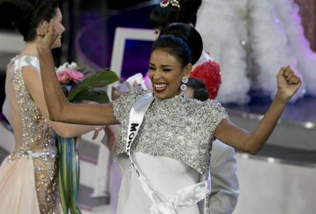 最新委内瑞拉小姐 23岁的她痛批川普
