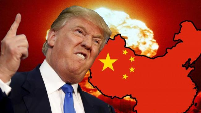 川普拿台湾挑逗中国,听明白了,中国不怕打,就怕不打