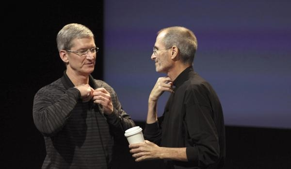 乔布斯临终把苹果交给他时 说了这句话