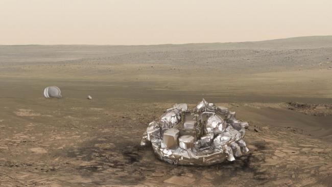 """火星登陆器""""失联"""" 科学家焦急等待"""