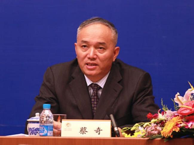 习近平心腹蔡奇出任北京市长