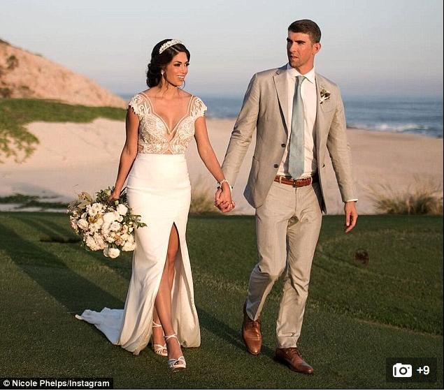 菲尔普斯终于曝光婚纱照 涮了媒体四个月