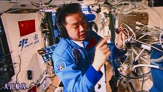 """中国航天员太空体检竟发现2条""""动脉"""""""