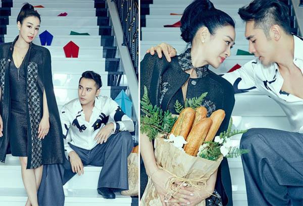 钟丽缇婚礼倒计时 中式嫁衣设计细节曝光