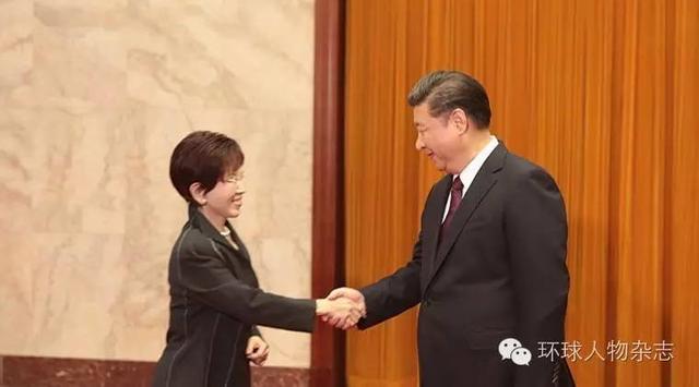 洪秀柱不愧国民党第一女汉子