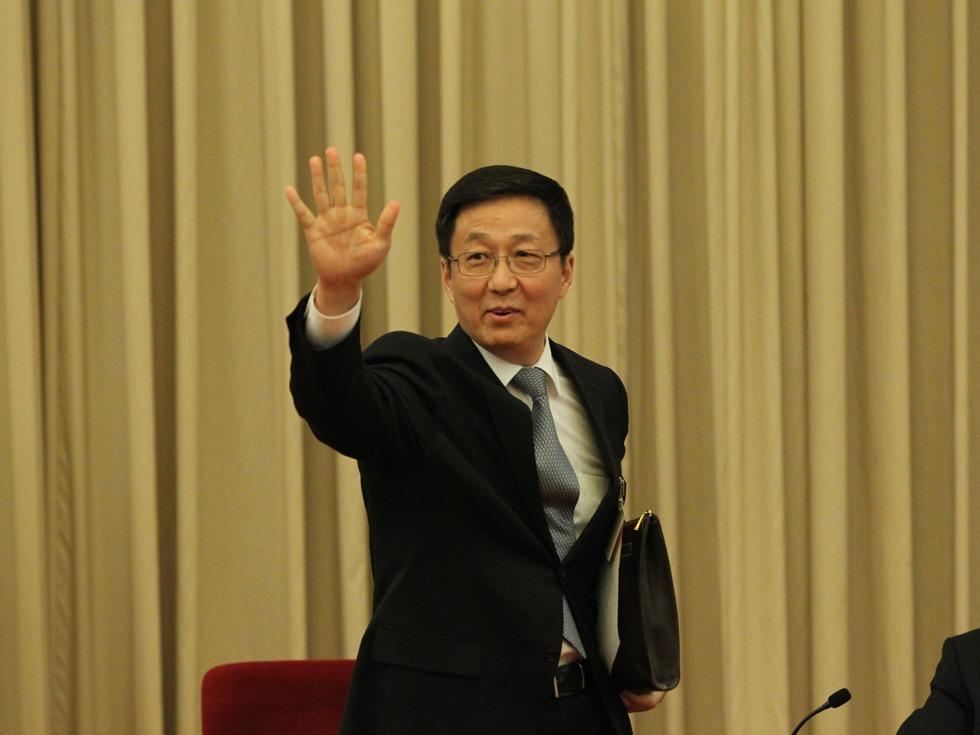 韩正大秘被调离上海 跨省任江苏省委书记