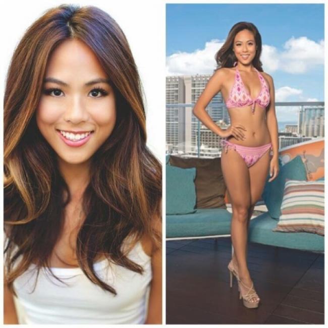 能说流利中文 华裔美女摘夏威夷小姐桂冠