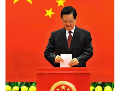 胡锦涛已经无法亲自前往选举站投票