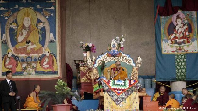 达赖喇嘛到访乌兰巴托 蒙古又得走钢丝