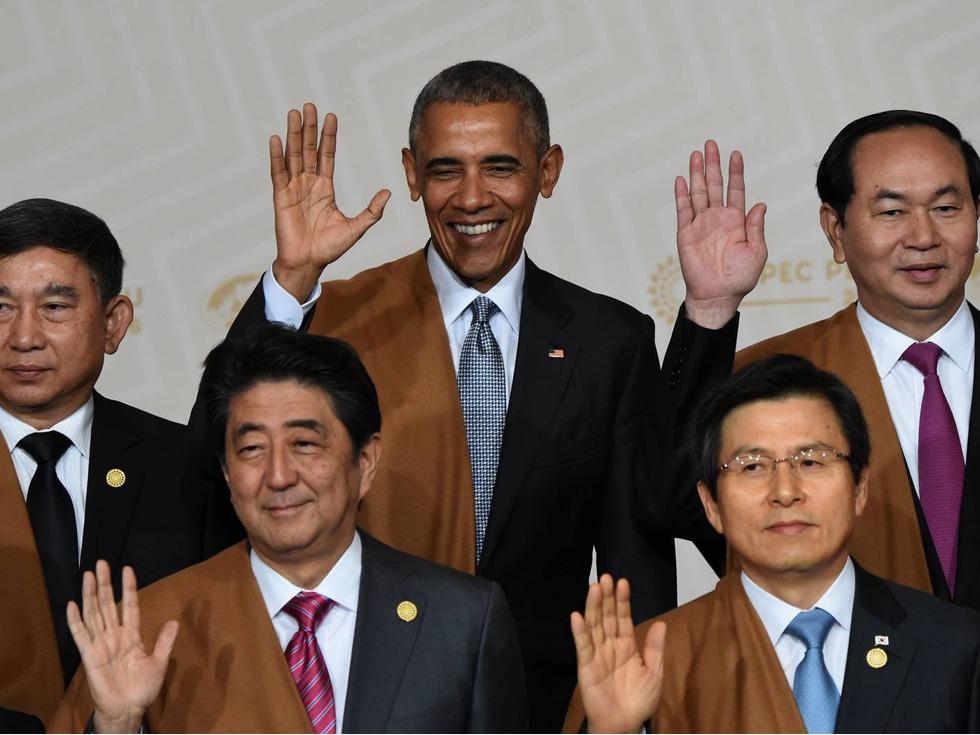 奥巴马:中国无法替代美国领导地位
