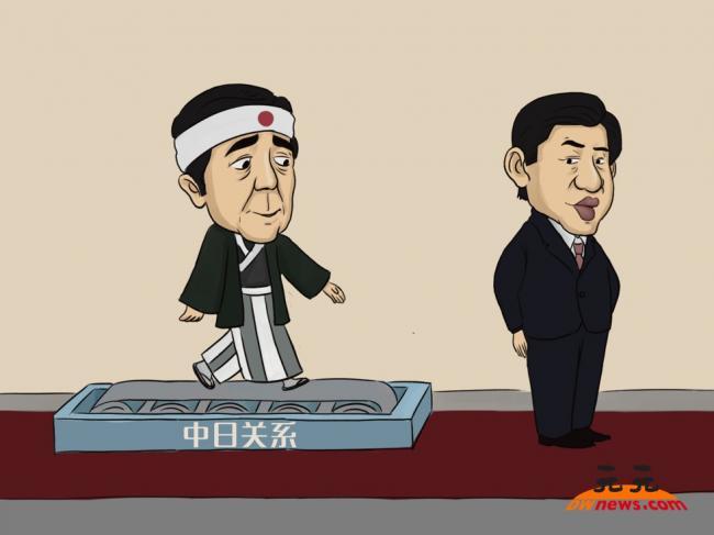 安倍是中国的真正可怕对手
