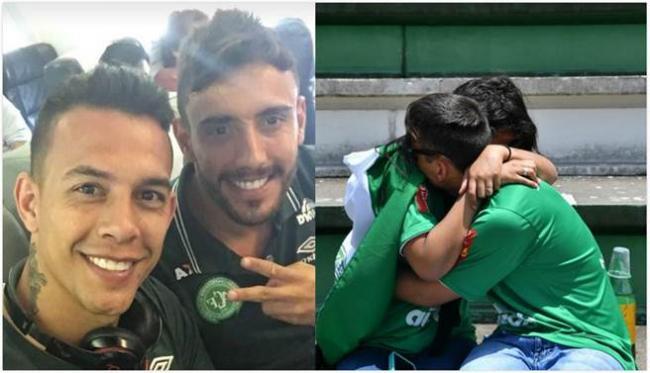 巴西足球队遇空难 他最后遗言让人泪崩