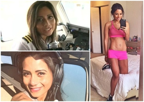 这位美女副驾首次出航 死在巴西球队空难