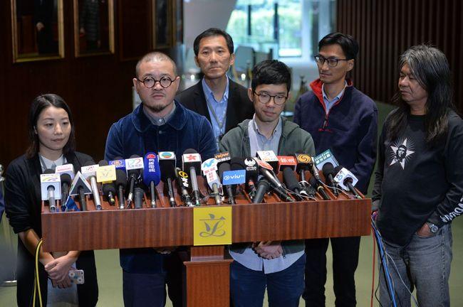 香港政府申请罢免梁国雄等4名议员资格