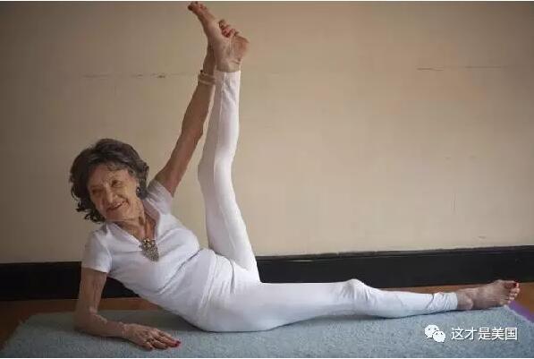 这位93岁的老太是开发人类潜能的活广告