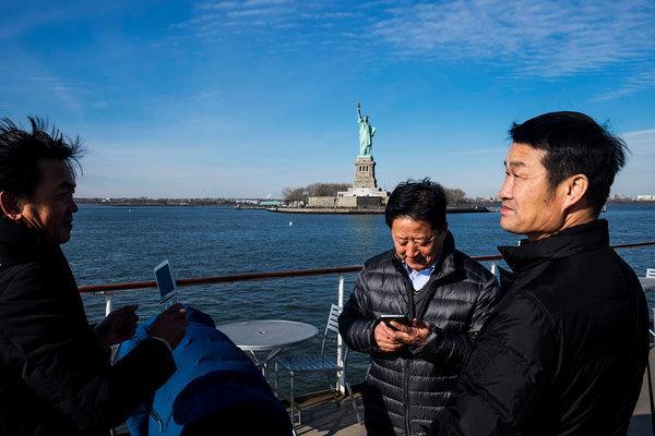 中国游客大失望   嫌纽约楼不高街太窄