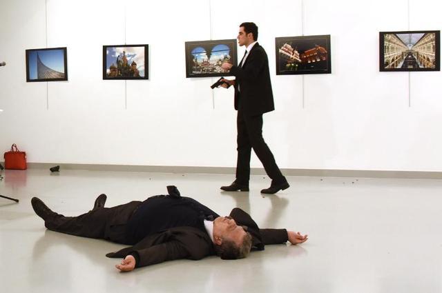 杀俄大使凶手另有身份?土总统背后一凉