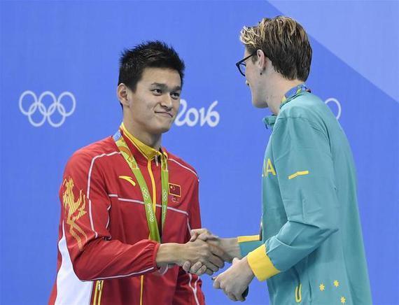 霍顿坚持看法不后悔 东京奥运与孙杨再较量