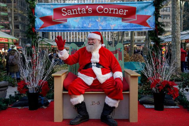 纽约最聪明圣诞老人 他得过诺贝尔奖