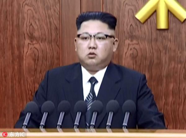 金三胖新年贺词声称:洲际导弹试射收尾
