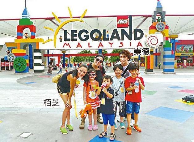 张柏芝飞泰国跨年 陪俩儿子游亲子乐园