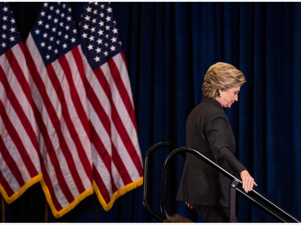 意外 希拉里将出席特朗普就职典礼