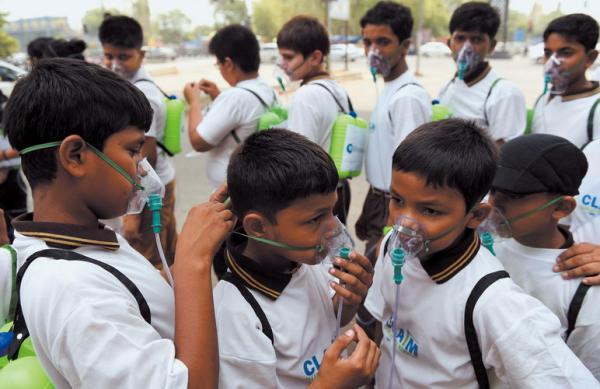 中国雾霾是小污,印度雾霾才是大污?