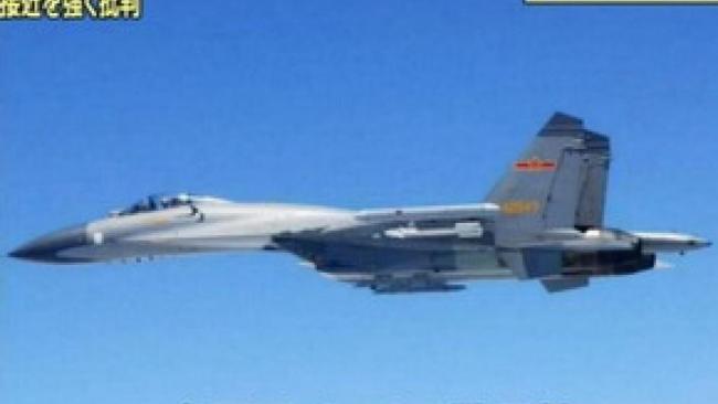中国军机频出动   日本韩国均紧张