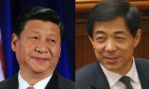 薄熙来一家支持习近平 习心向毛泽东