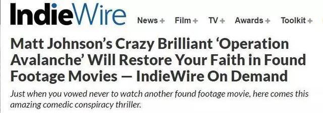 有人把美国最大的阴谋拍成了电影,吃豹子胆了