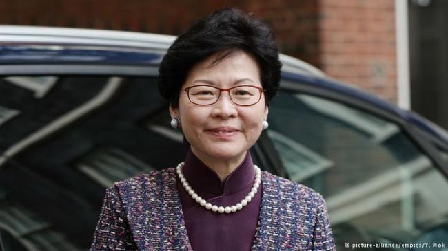林郑月娥请辞  正式走上特首选举之路