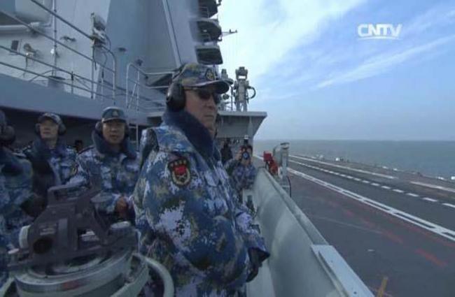 海军司令吴胜利上将与中国海军的崛起