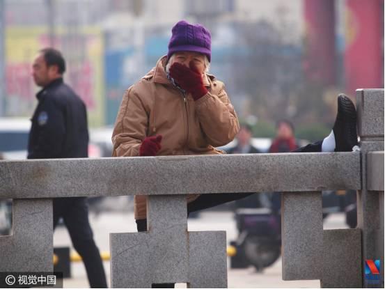 这座城市是中国霾王 闻着像很多人在抽烟