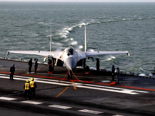 解放军中将:辽宁舰100小时就能拿下台湾