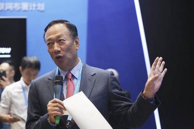 郭台铭投资美国  传惊动中国高层