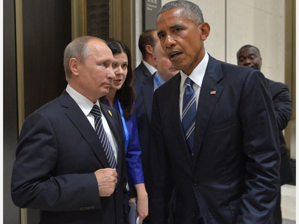 奥巴马最后的记者会 就美俄关系狠批普京