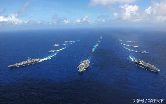 美军多少艘航母中国都不怕 专家说出真相