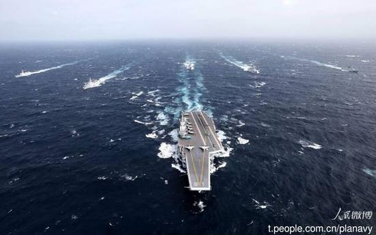 中国未来或有6艘航母 但需要至少20年