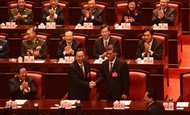 马兴瑞当选广东省省长 曾任深圳市委书记