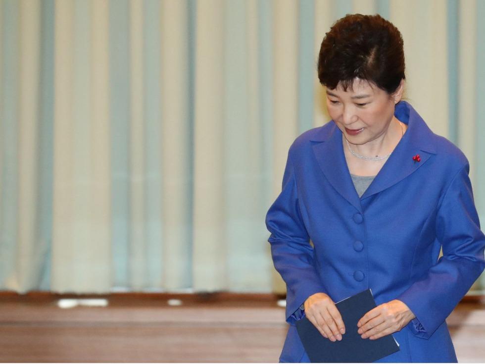 拒绝不体面退场 朴槿惠酝酿绝地反击