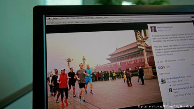 华尔街日报:进军中国,脸书玩命不管用