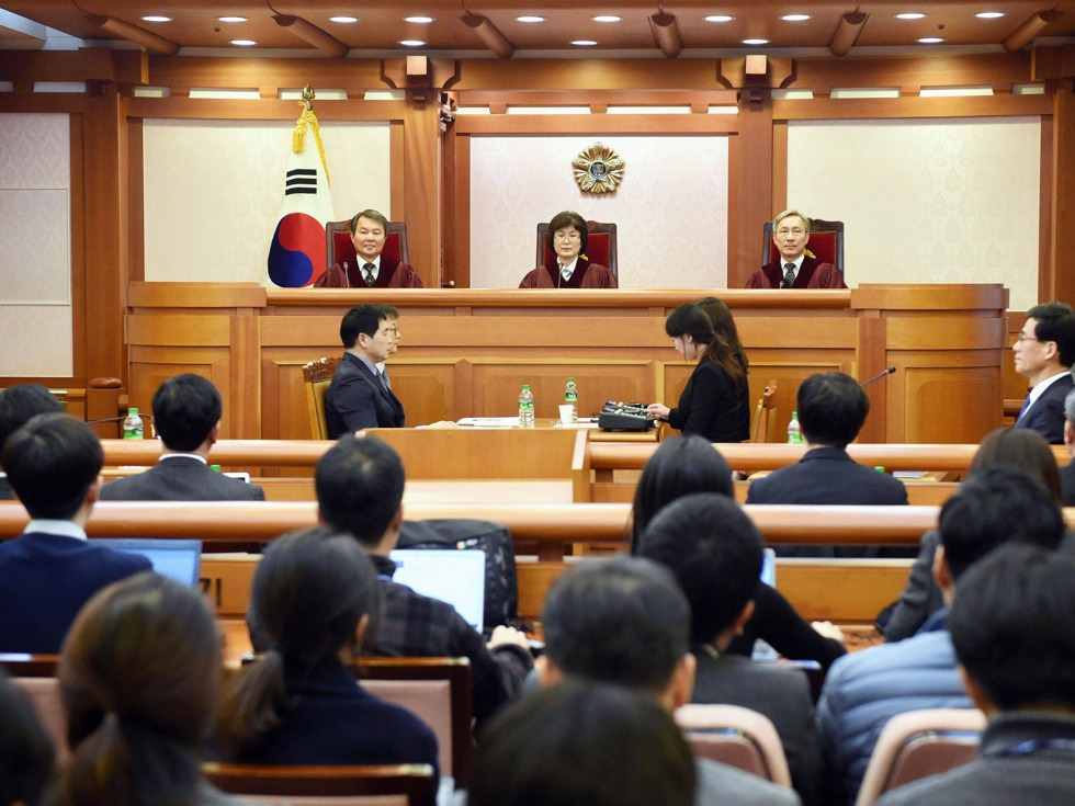 审朴槿惠案大法官突然辞职 形势陡转