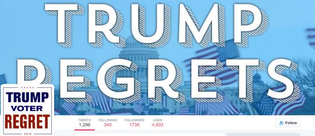 美国人选川普后悔了  挤加拿大推特吐槽