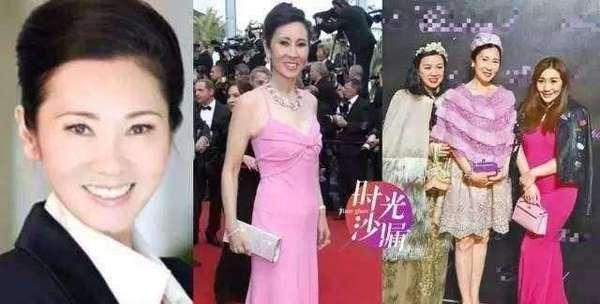 王思聪妈妈原来这么美
