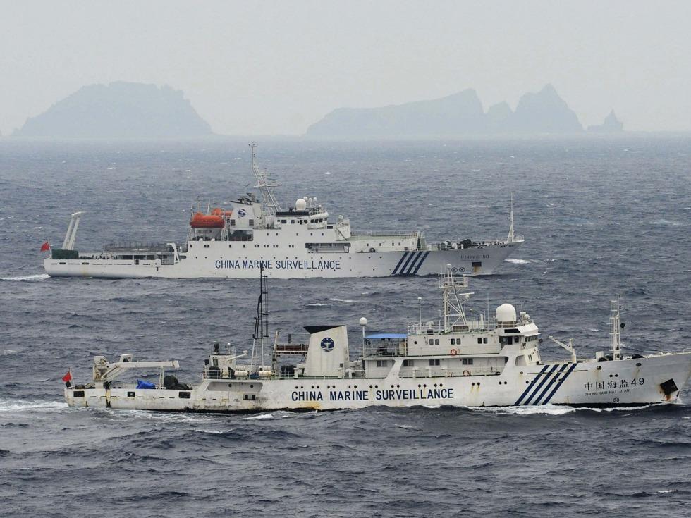 正面回击美防长 中国出击钓鱼岛