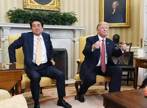 川普老提中国  有没有考虑安倍的感受