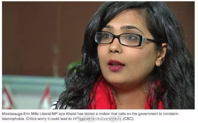 加国国会将通过反动议案  力护穆斯林