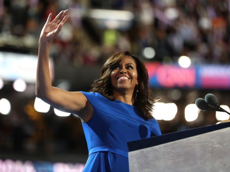 奥巴马夫妇恩师:米歇尔本该当总统
