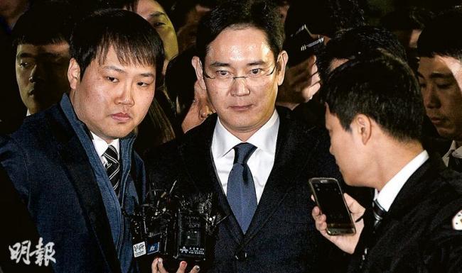 三星太子被捕剑指朴槿惠 官商勾结细节流出
