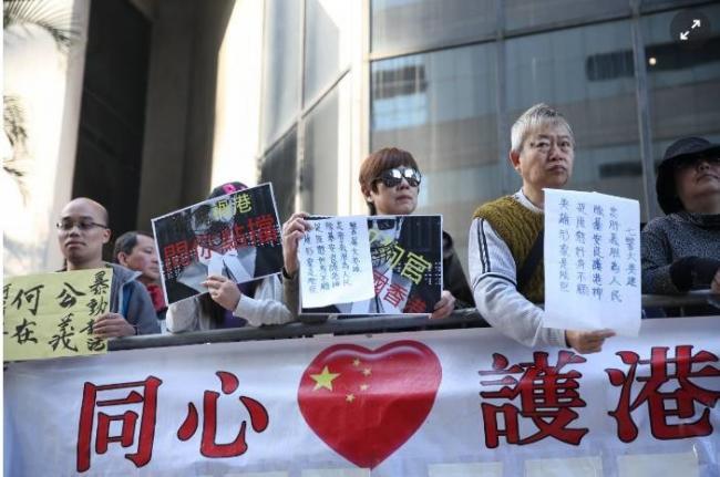 香港是中国的,岂容外国人胡作非为?